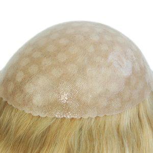 Skin con Gasa Prótesis Capilar Femenina   New Times Hair