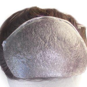 Postizo frontal para hombre Skin ultrafino de 0.03mm Nudo tipo V-looped