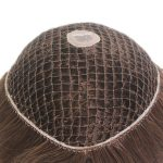 LW1390: Human Hair PE Line Hair Replacement for Women | New Times Hair